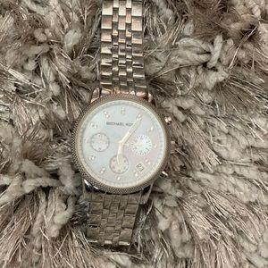 Michael Kors Ritz Silver Watch